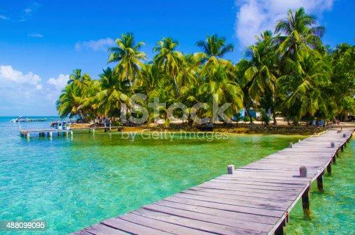 Jetty Pier of an beautiful Island