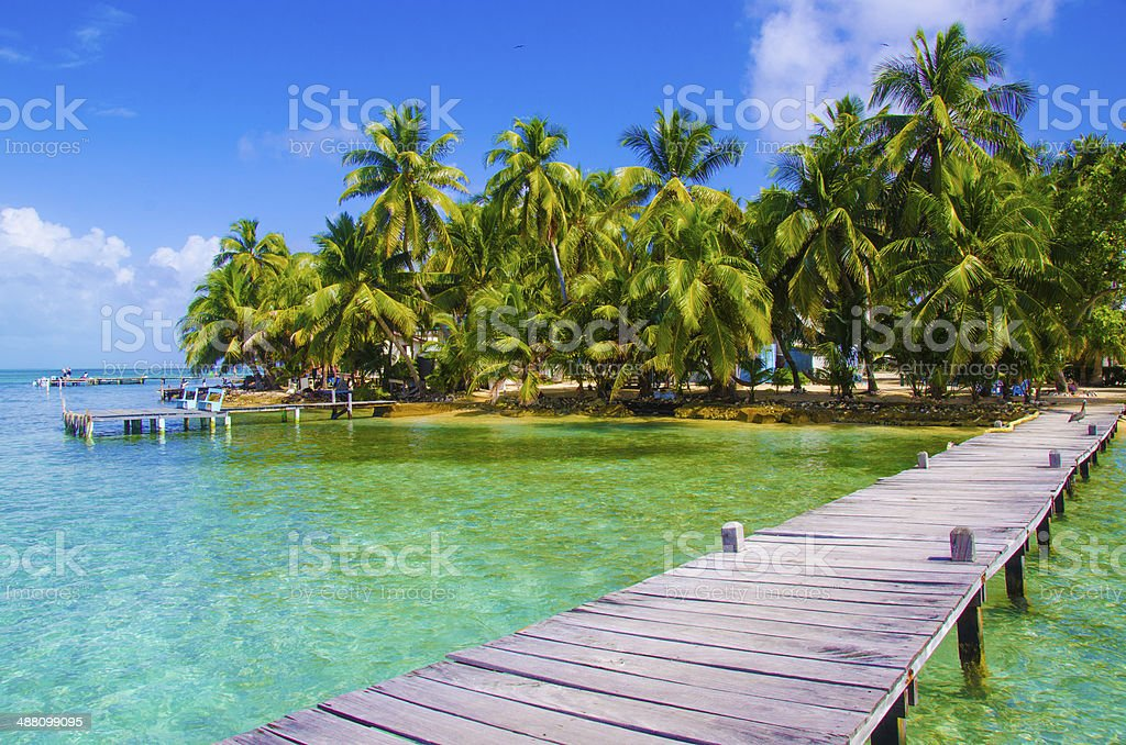 Meditation and relaxing on Pier stock photo