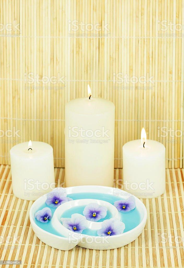 Meditation Corner stock photo