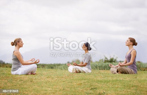 istock Meditation in the open air 484191843