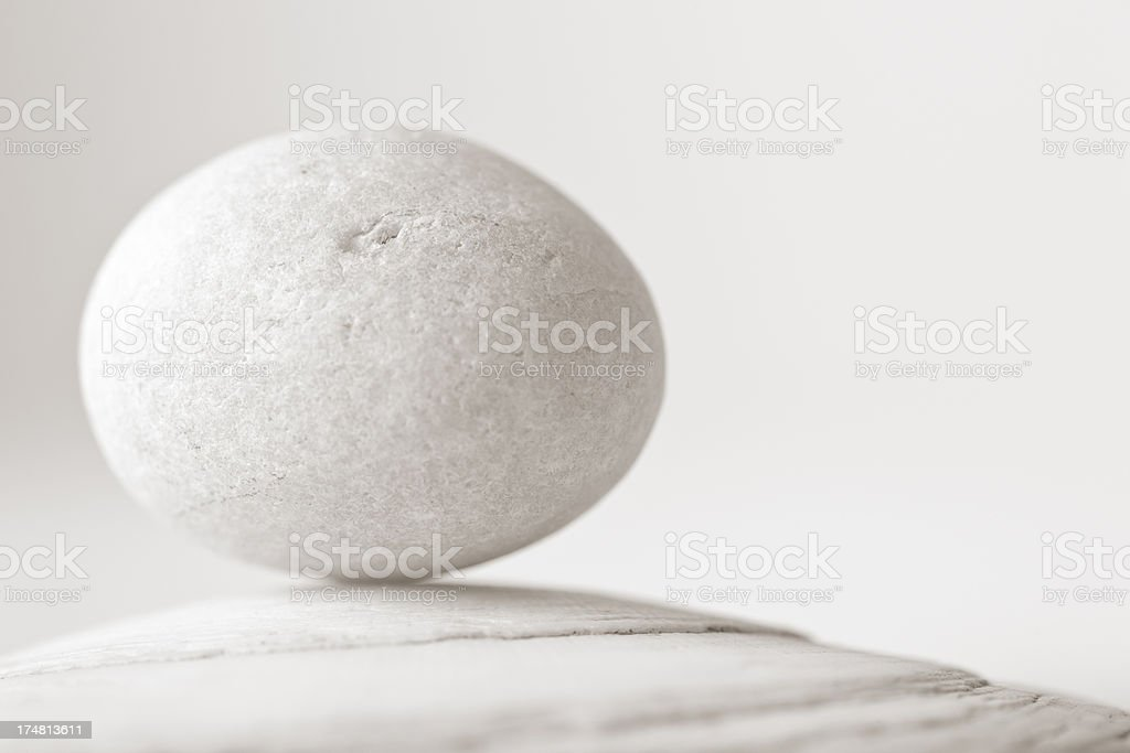 Meditation series: Perfect balance stock photo