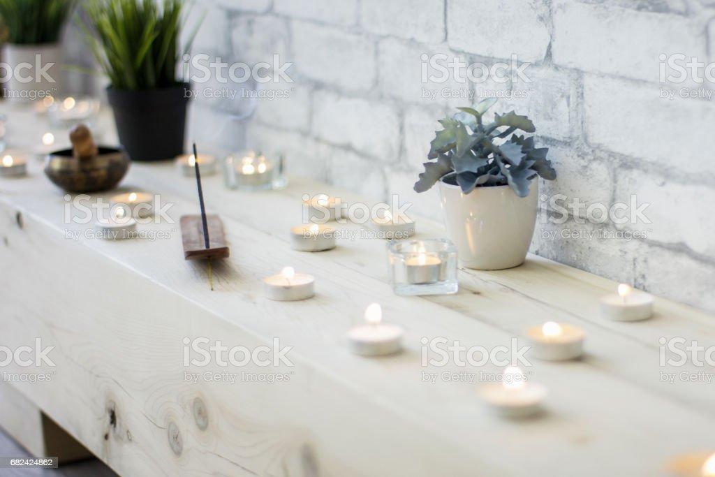 Meditation Studio royalty-free stock photo
