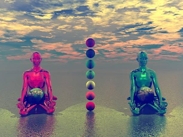 meditation zen stock photo