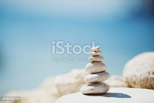 istock Meditative sea stones 516209216