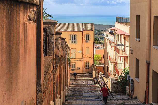Mediterrane Agricento auf Sizilien, Italien – Foto