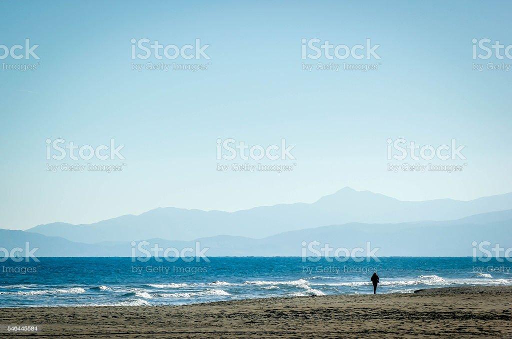 Mediterranean beach 2 - Photo