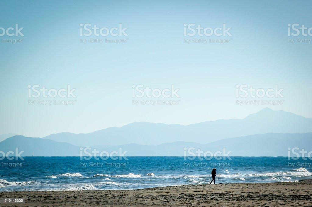 La plage méditerranéenne - Photo