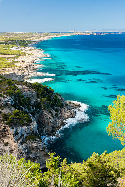 Mediterranean beaches. stock photo