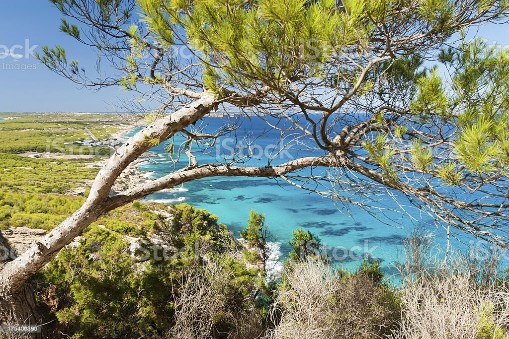 Mediterranean beaches stock photo