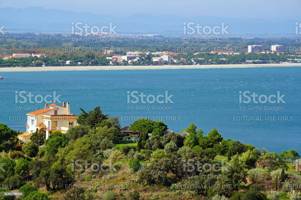Côte méditerranéenne dans le sud du Roussillon - Photo