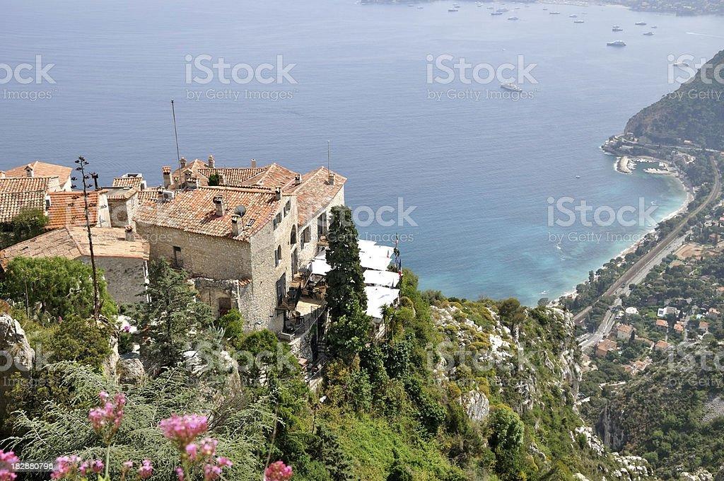 Mediterranean coast royalty-free stock photo