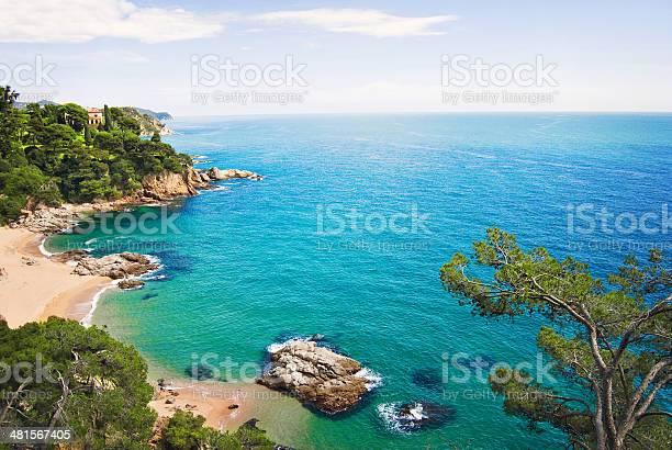 Photo of Mediterranean coast
