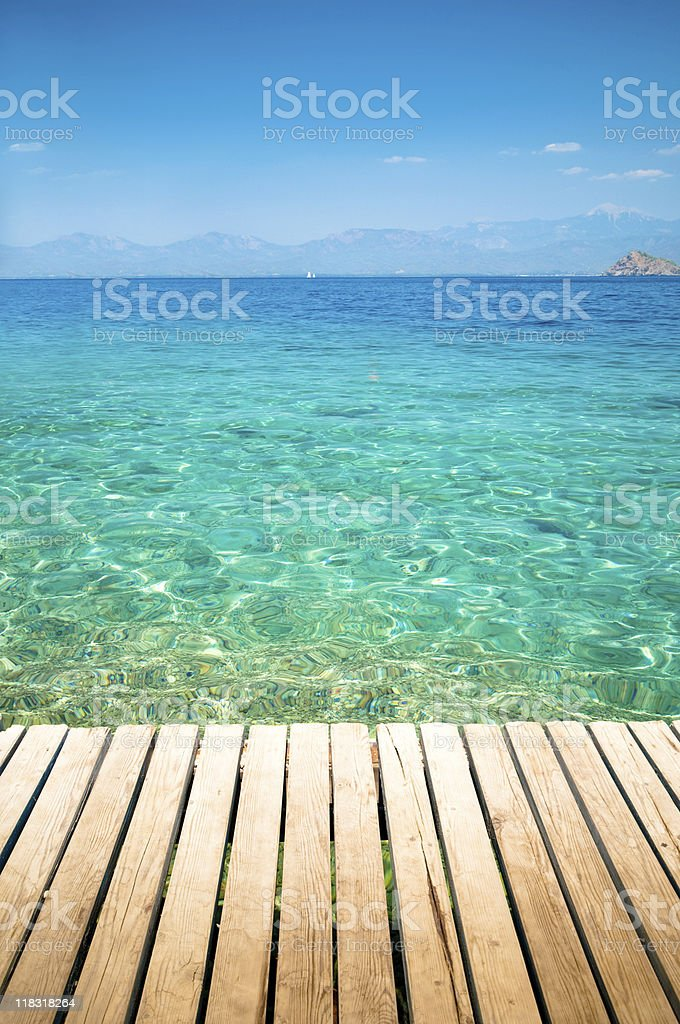 Mediterranean colors royalty-free stock photo