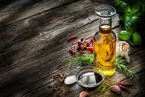 Mediterranean cooking ingredients