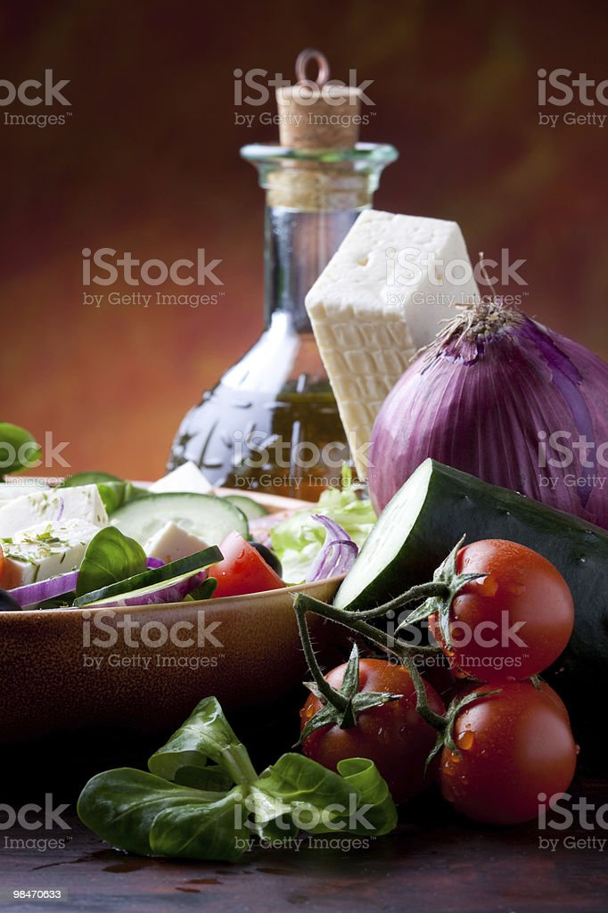 Mediterranean Cuisine royalty-free stock photo