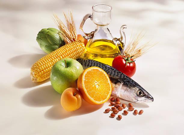 dieta mediterrânica, cozinhar os ingredientes - mediterranean food imagens e fotografias de stock
