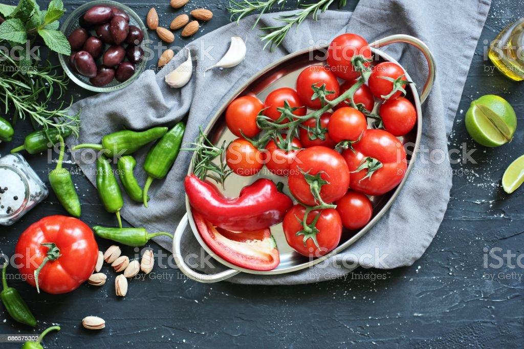 Mediterranean dinner table. foto stock royalty-free