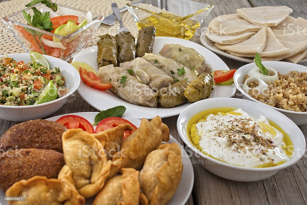 Mediterranean Food stock photo