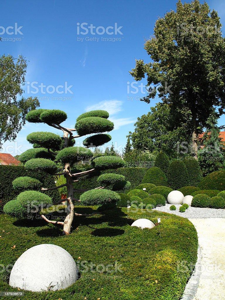 Mediterranean Garden royalty-free stock photo