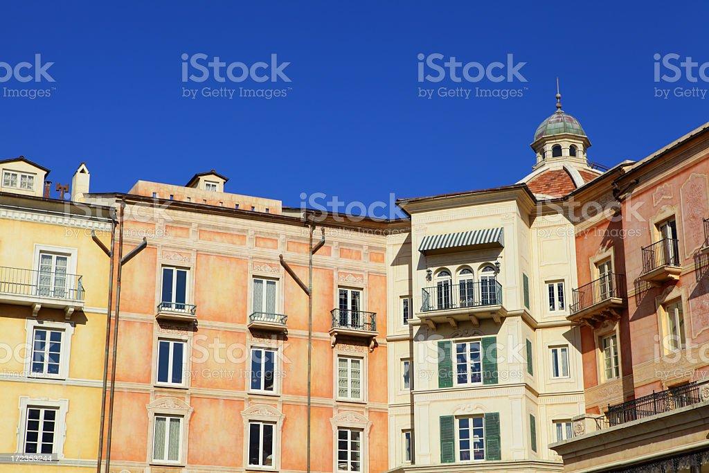 Mediterranean house royalty-free stock photo
