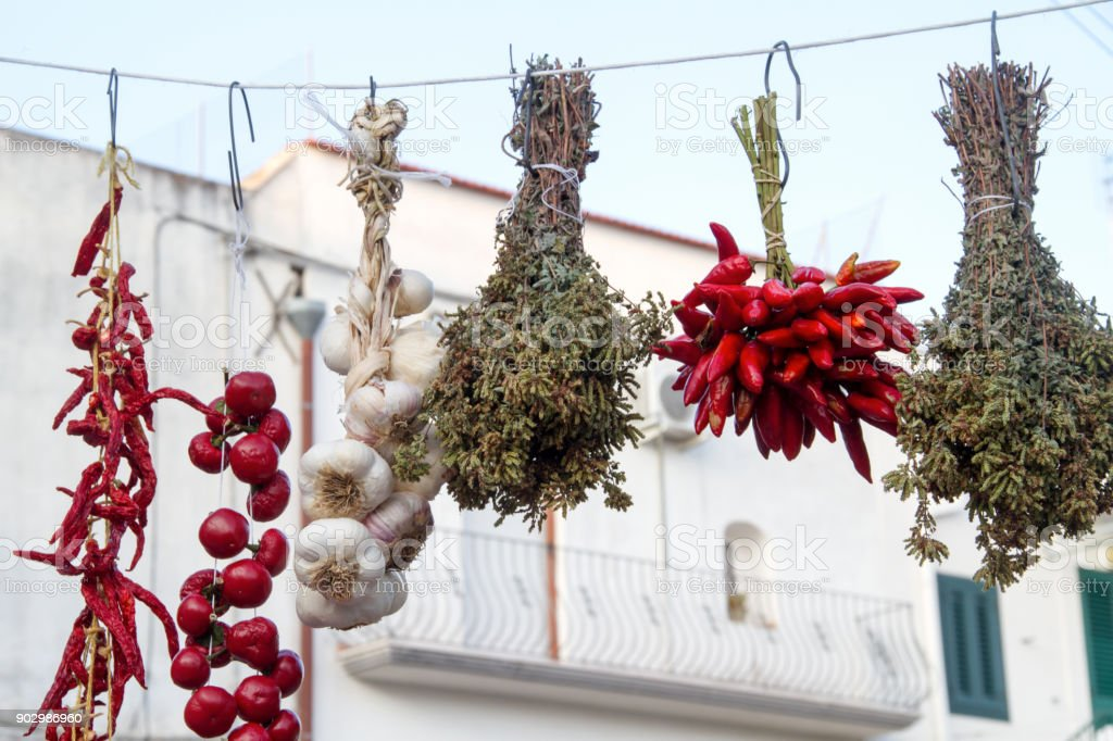 mediterranean italy food stock photo