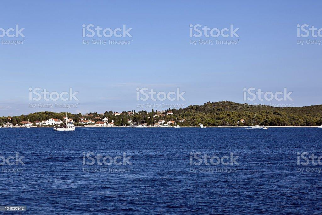 landcape Mediterrâneo - foto de acervo