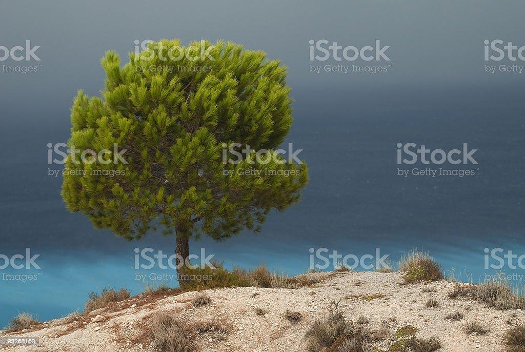 Mediterranean landscape royalty-free stock photo
