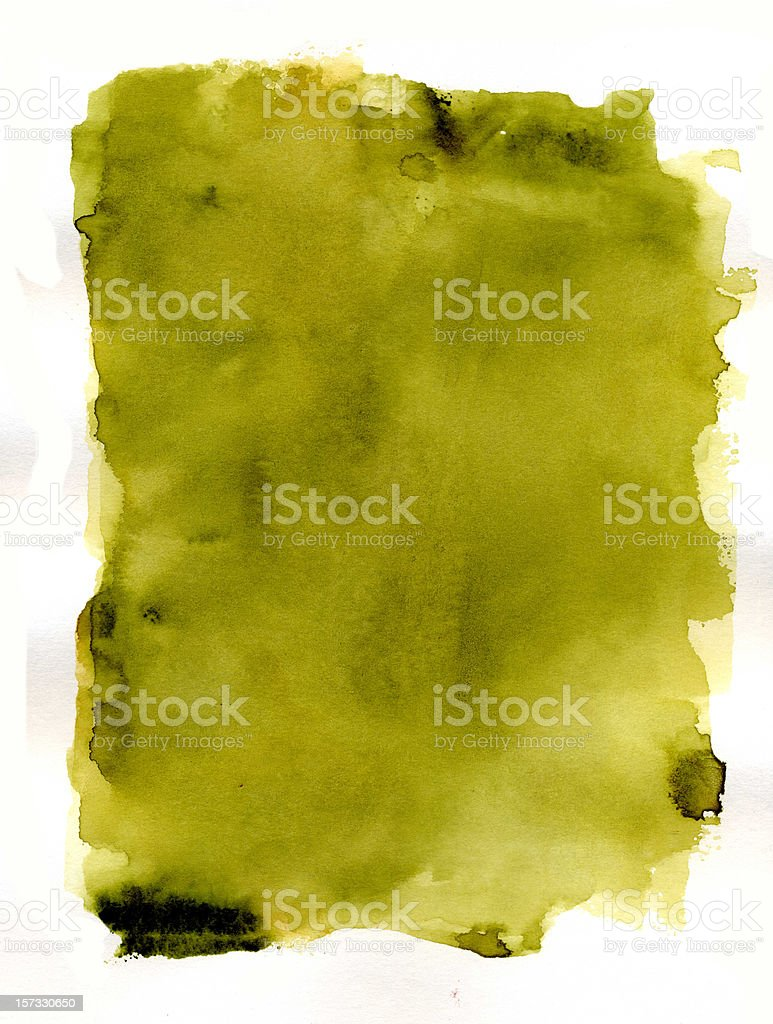 Mediterranean Olive Frame Vol I royalty-free stock photo