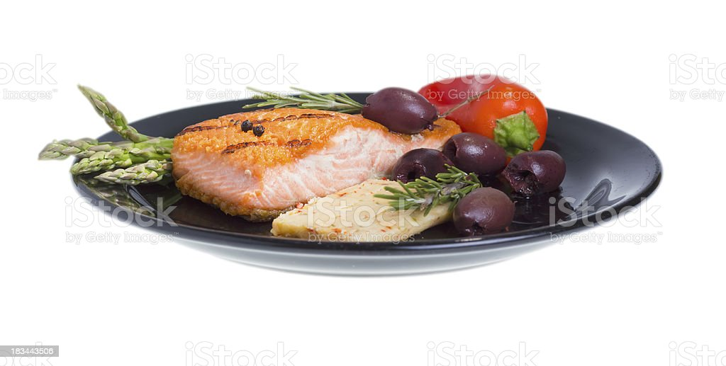 Mediterranean omega-3 diet. royalty-free stock photo