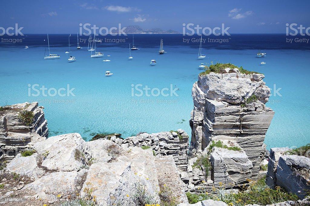 Mediterranean paradise royalty-free stock photo