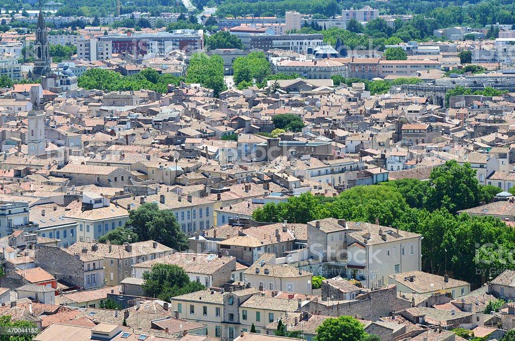 Mediterranean Rooftops stock photo