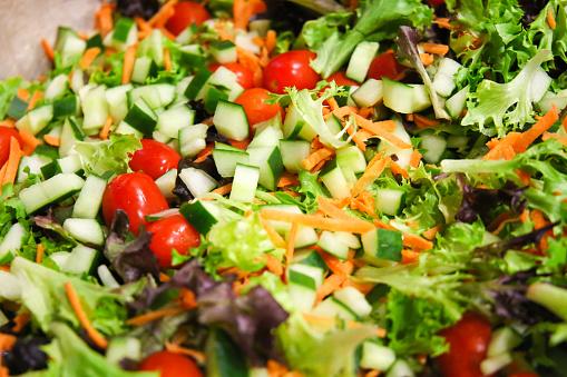 Mediterranean Salad Mix Stock Photo - Download Image Now