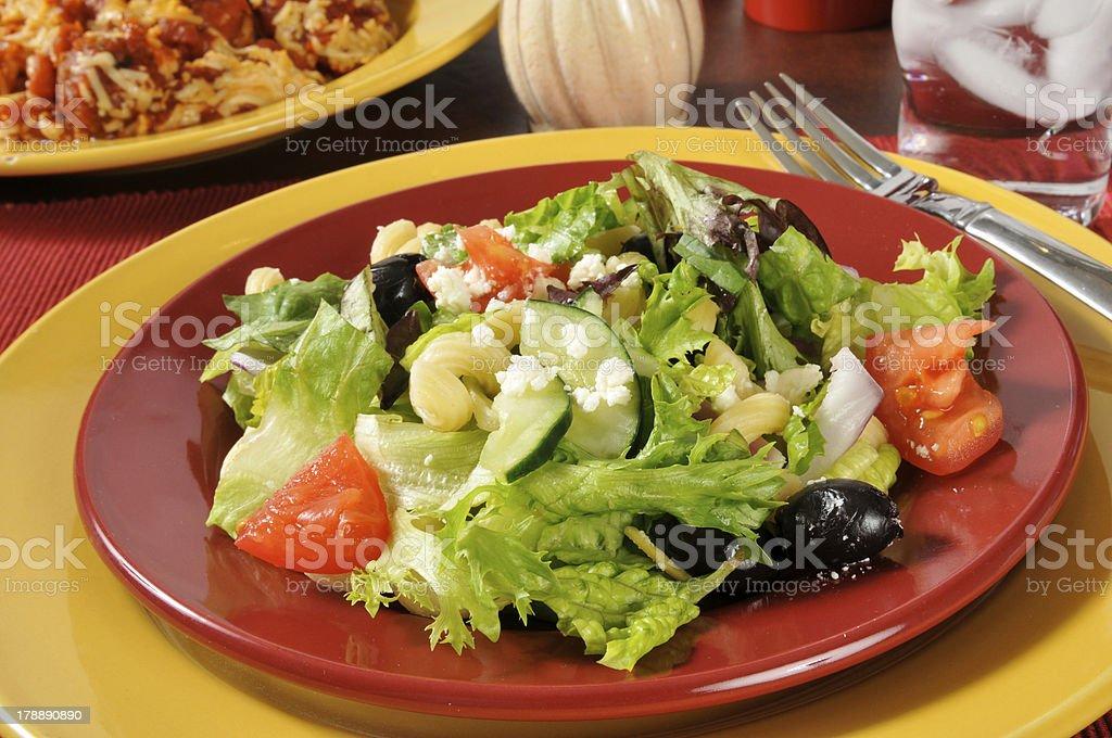 Mediterranean Salad royalty-free stock photo