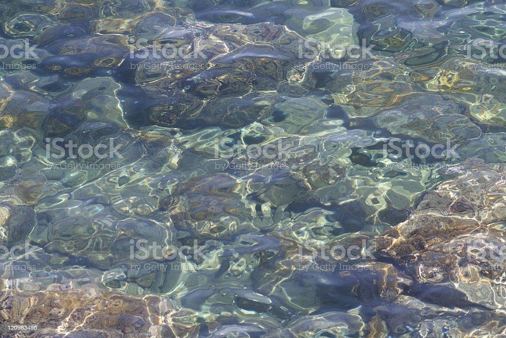 Mediterranean Sea, Full-frame Image stock photo