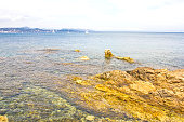Mediterranean sea in Saint-Tropez, France