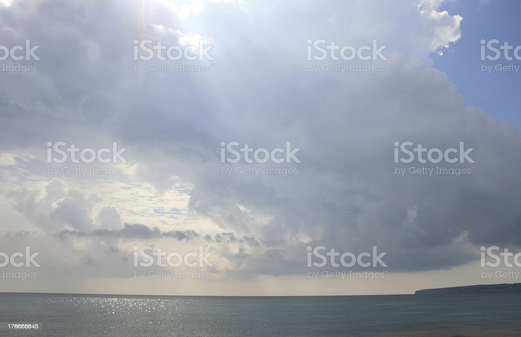 mediterranean sea royalty-free stock photo
