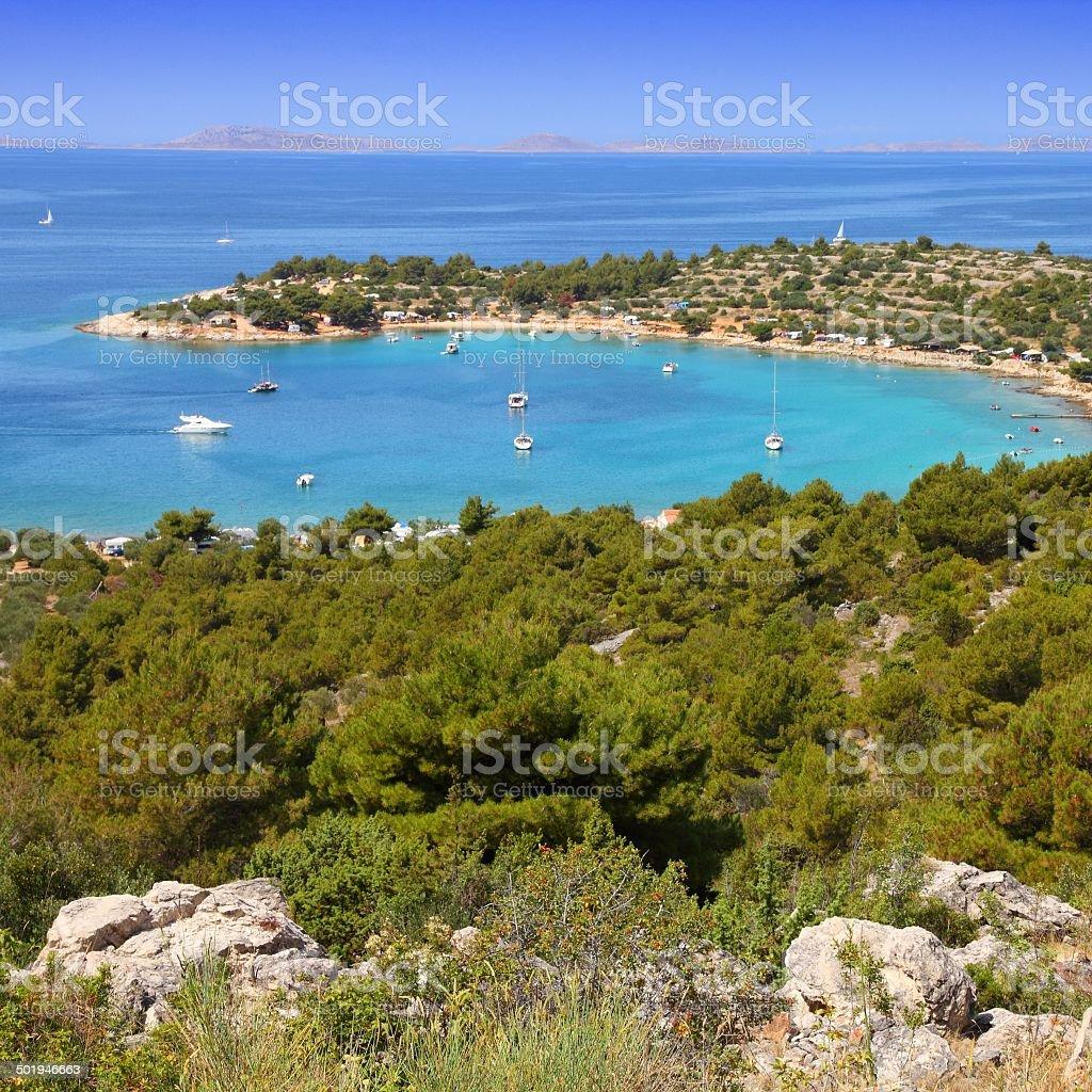 Mediterranean Sea stock photo