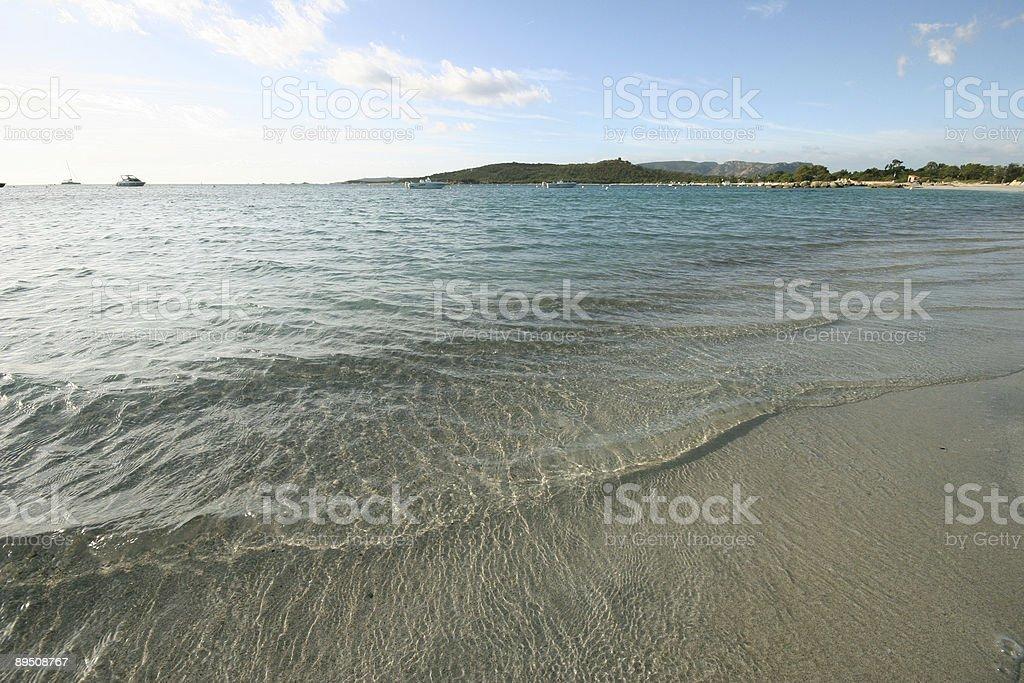 Mediterranean sea royalty-free stock photo