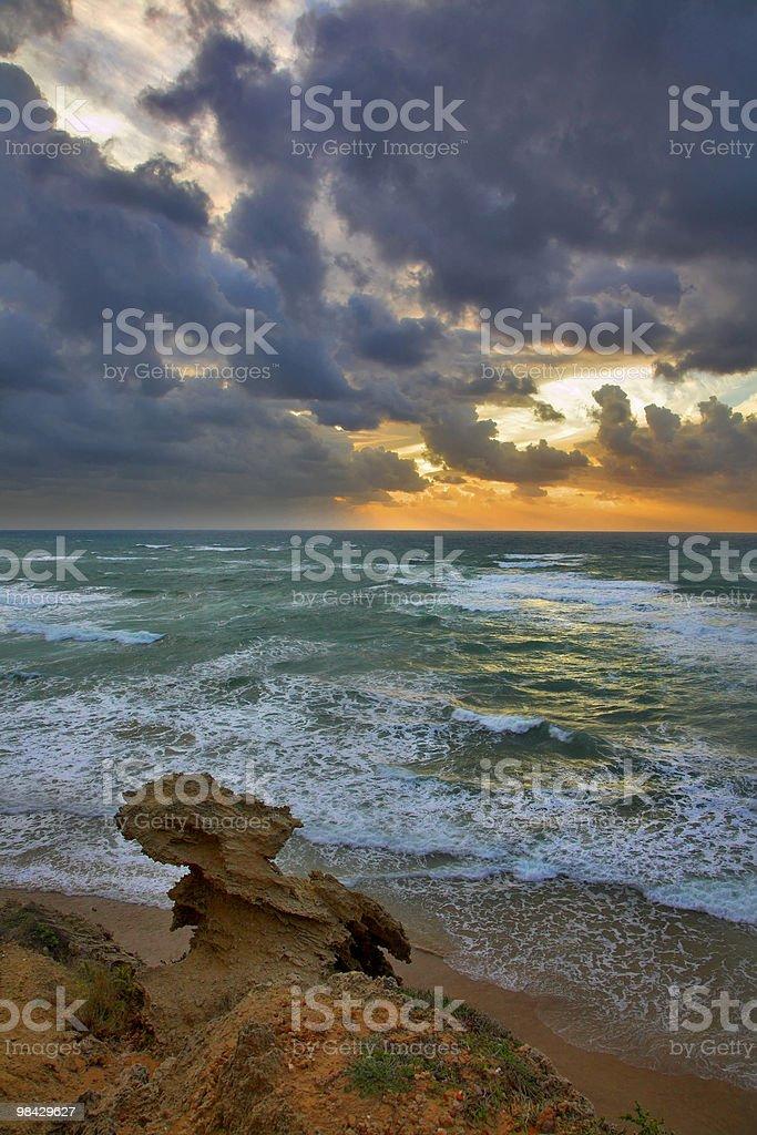Mar Mediterraneo foto stock royalty-free