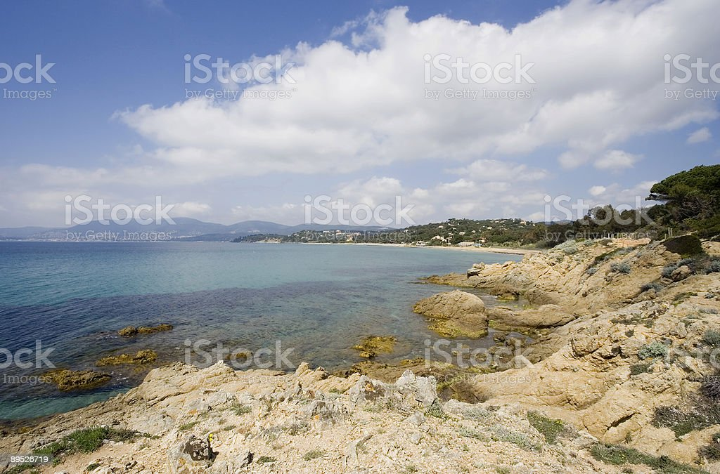 mediterranean seascape royalty-free stock photo