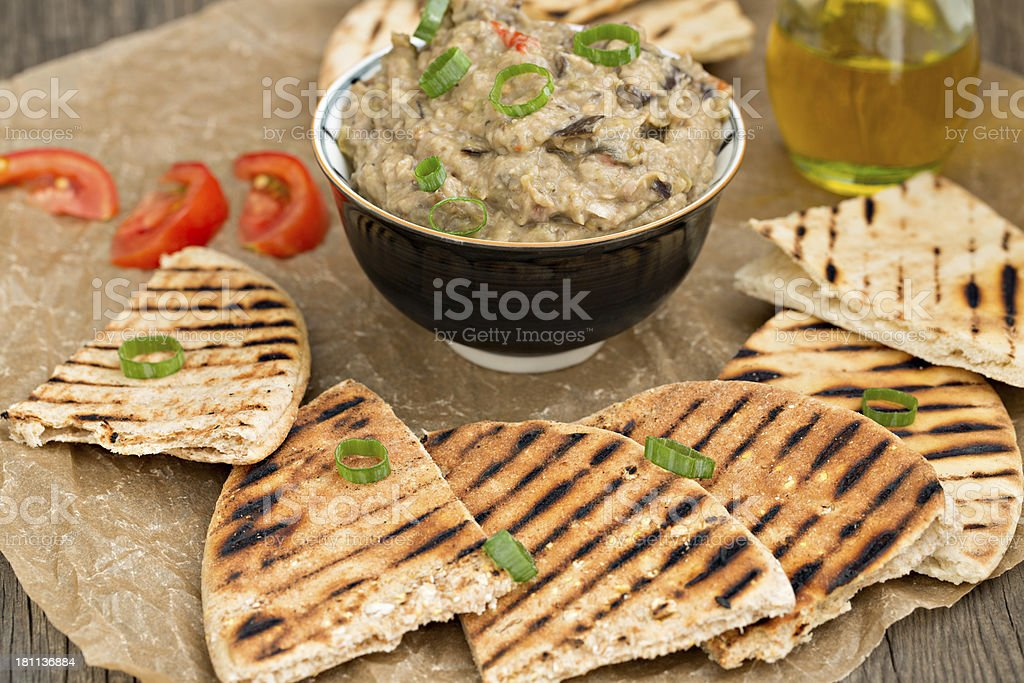 Mediterranean Snack stock photo
