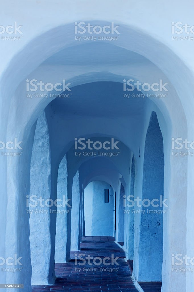Mediterranean street royalty-free stock photo