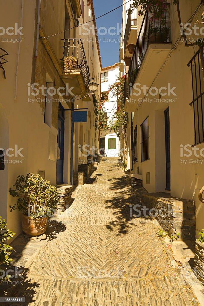 Mediterranean street royalty-free stock photo
