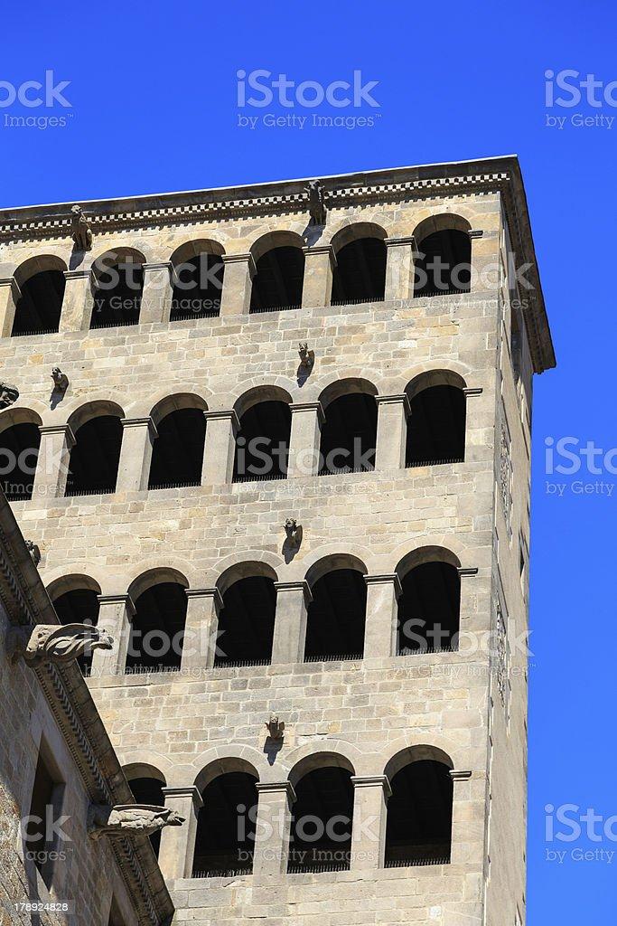 Śródziemnomorskie Miasto zbiór zdjęć royalty-free