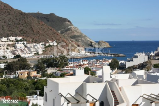 Mediterranean Town Stock Photo & More Pictures of Almeria