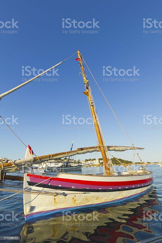 Mediterranean tranquility royalty-free stock photo