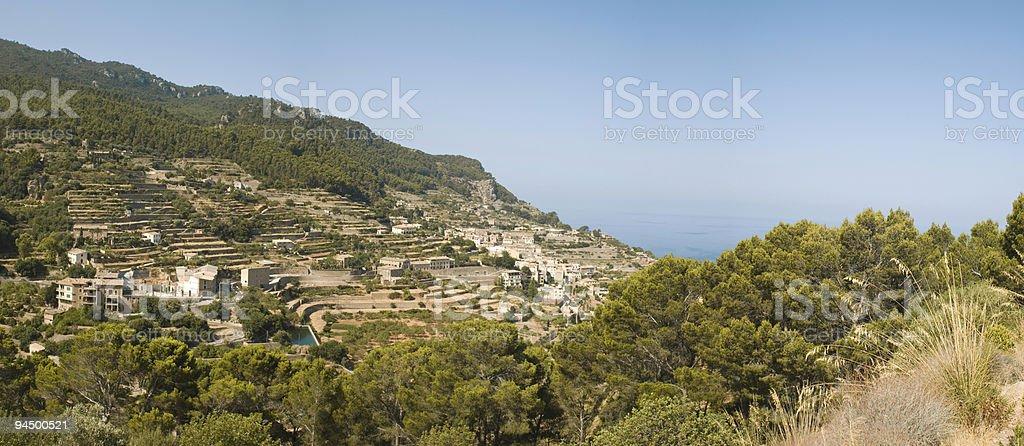 mediterranean views. royalty-free stock photo