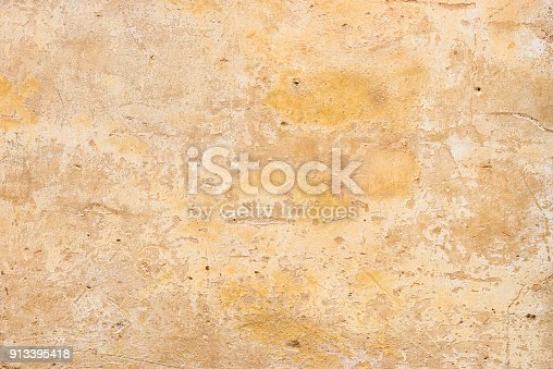 Old rustic wall plaster backdrop texture with copy space