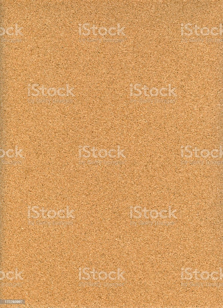 Medium brown cork vertical background stock photo