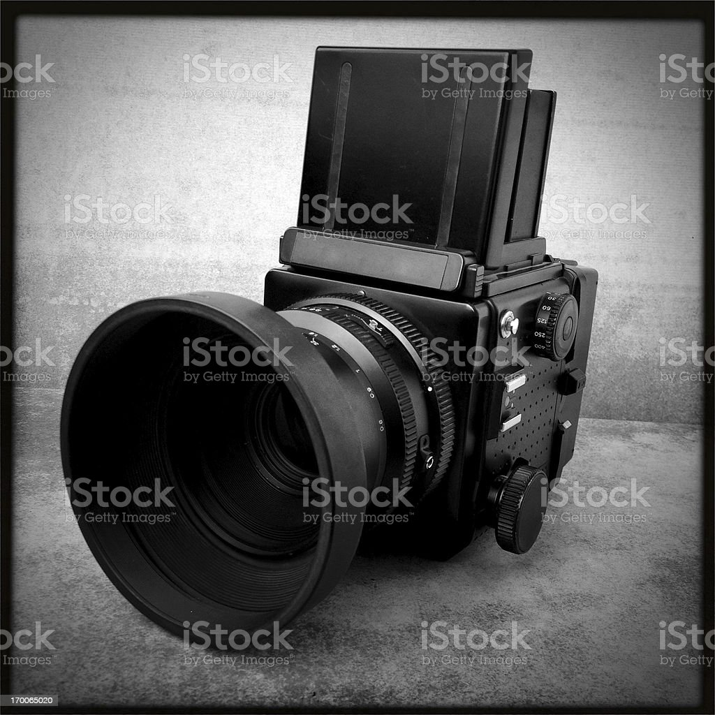 medium format camera royalty-free stock photo